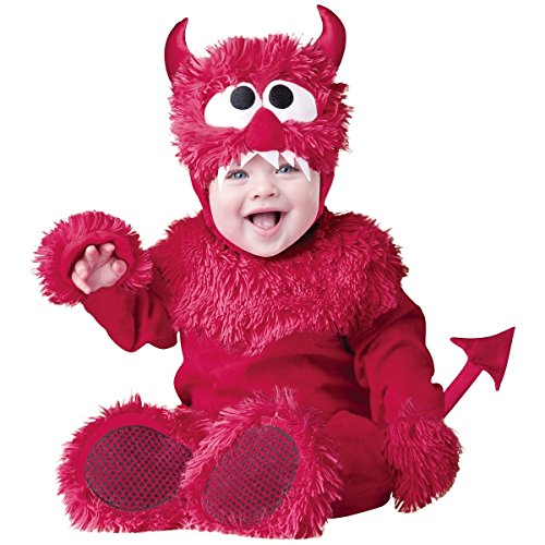 InCharacter Baby Boy's Devil Costume, Red, X-Small (Baby Devil Costume)