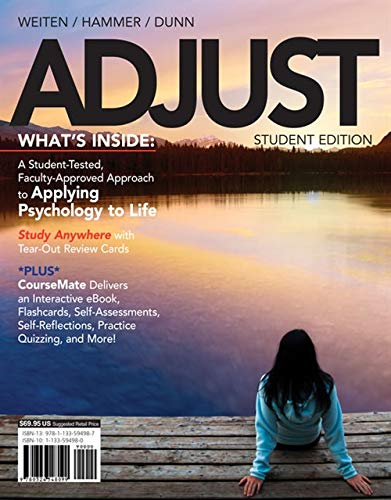 ADJUST (with CourseMate, 1 term (6 months) Printed Access Card)