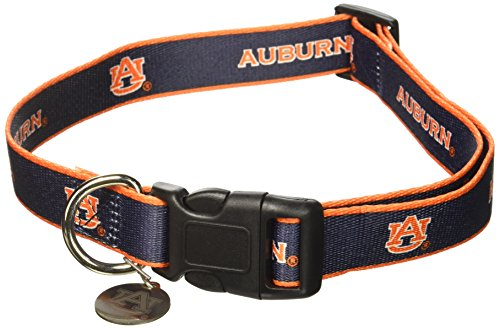 - Sporty K9 NCAA Auburn Tigers Dog Collar, Medium/Large
