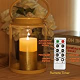 GiveU Dancing Flame Candle with Remote