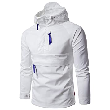 Amazon.com: Forthery Men's Lightweight Breathable Windbreaker ...