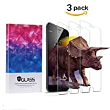iPhone 6 Plus/6S Plus/7 Plus Screen Protector, QIANXIANG Screen Protector Tempered Glass, No Bubbles, 3D Touch Compatible,Oil and Scratch Coating, Touch Clear [3 Packs] Q1