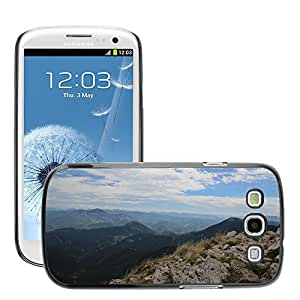 Hot Style Cell Phone PC Hard Case Cover // M00308856 Mountains Air Clouds // Samsung Galaxy S3 S III SIII i9300