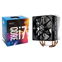 Intel7th Gen Core i7-7700K Desktop Processor (BX80677I77700K) & Cooler Master Hyper 212 EVO CPU Cooler with 120mm PWM Fan Bundle