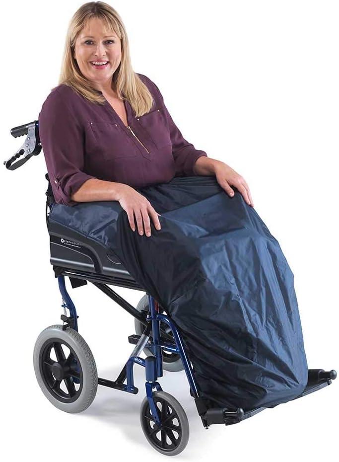 Funda para delantal de silla de ruedas, protección impermeable para la parte inferior del cuerpo y las piernas