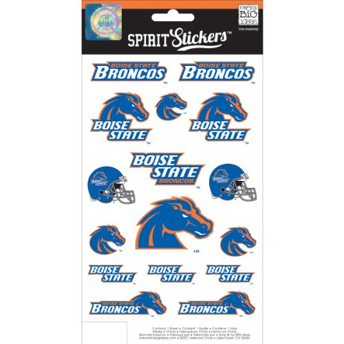me & my BIG ideas Officially Licensed NCAA Spirit Stickers, Boise State ()