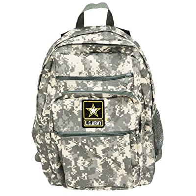 best Official US Army Strong Military Backpack Bag Digital Camouflage Camo Print