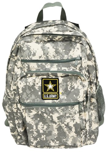 Official US Army Strong Military Backpack Bag Digital Camouflage Camo Print (Camouflage Digital Backpack)