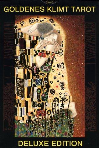 Goldenes Klimt Tarot Deluxe Edition: 78 Tarot-Karten + Tarot-Beutel aus Satin, gold