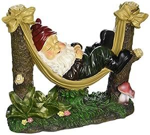 "StealStreet SS-KHD-39264 12"" Slumbering Gnome Garden Statue"