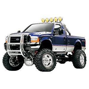 Tamiya TAM58372 Tamiya 58372 Ford F350 High-Lift Truck Assembly Kit