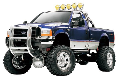 - Tamiya TAM58372 Tamiya 58372 Ford F350 High-Lift Truck Assembly Kit