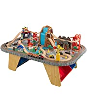 KidKraft Waterfall Junction Train Table and Set