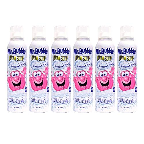 - Mr. Bubble Extra Gentle Foam Soap, 8OZ, Pack of 6
