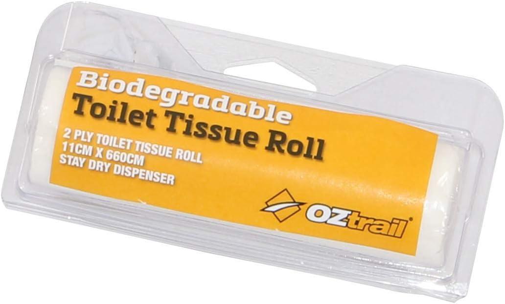 OZtrail Rollo de pañuelos para el baño biodegradables de Doble ...