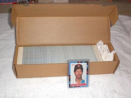 Amazoncom 1988 Donruss Baseball Complete Set 660 Cards Hand