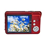 GordVE KG15172 2.7inch 18MP Mini Digital Camera 8x Digital Zoom Red Color