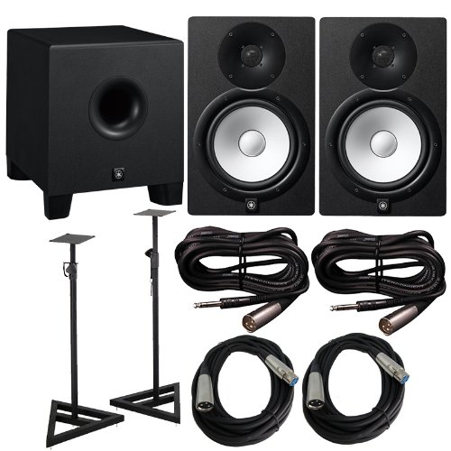 Yamaha Powered Subwoofer Cables Bundle