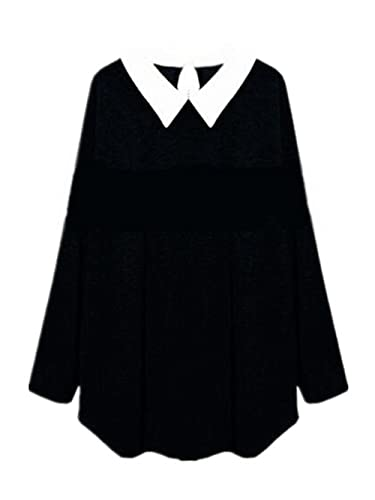 Kerlana Camiseta Mujer Mangas Largas V Cuello Blusa Elegante Ocasionales Camisas Falso Dos Oversize