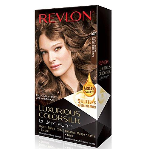 Revlon Luxurious Colorsilk Buttercream, Light Ash Brown