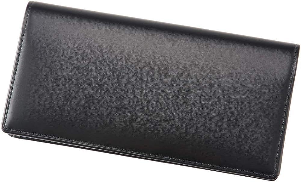 CYPRIS ファスナー付き通しマチ長財布 の外装