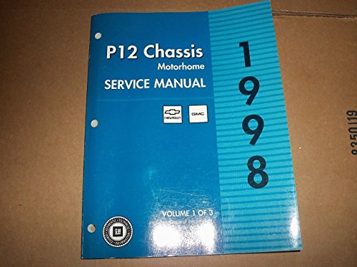 1998 Chevy GMC P12 Chassis Motor home Service (P12 Chassis)