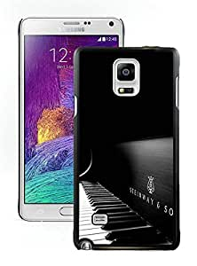 Steinway And Sons Black Piano Black New Recommended Design Samsung Galaxy Note 4 Phone Case
