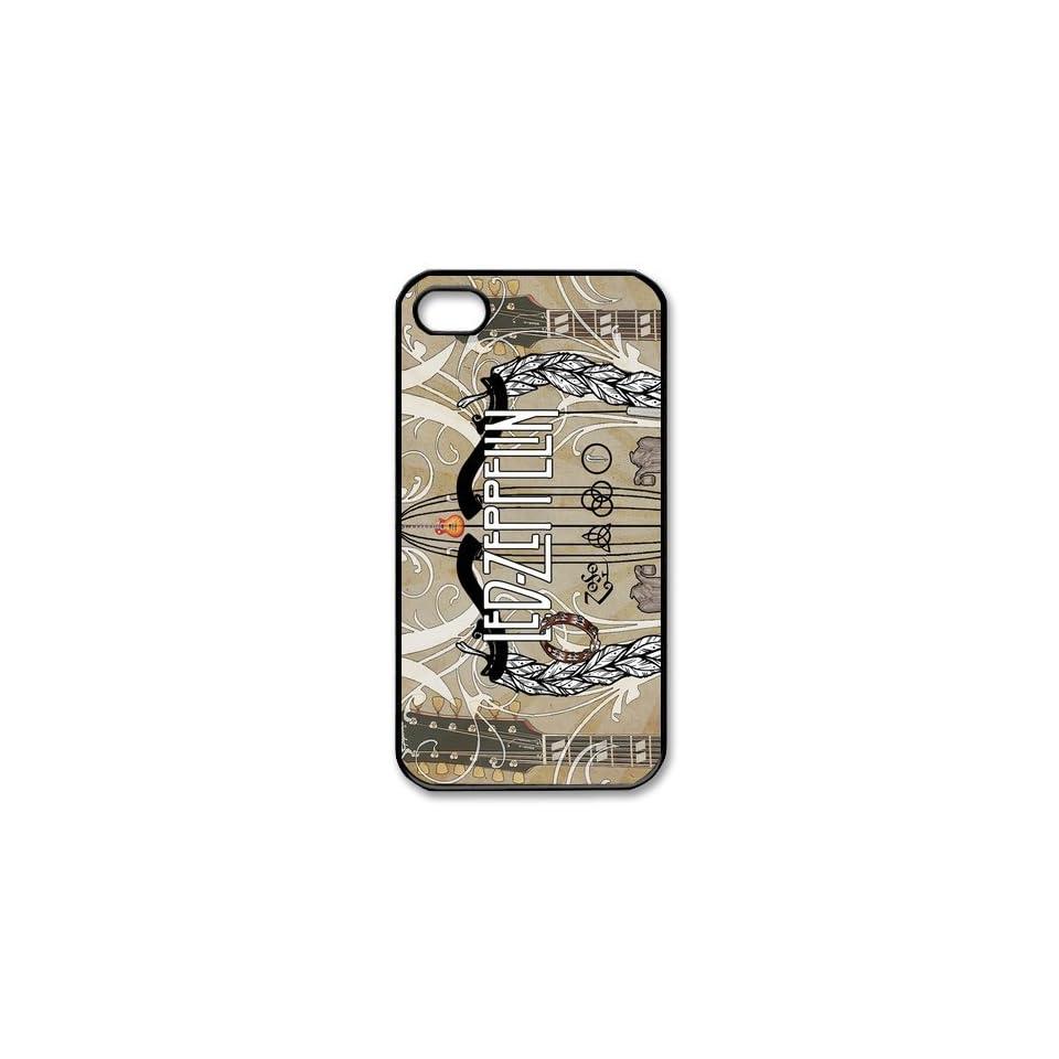 Custom Led Zeppelin Cover Case for iPhone 4 4s LS4 2598