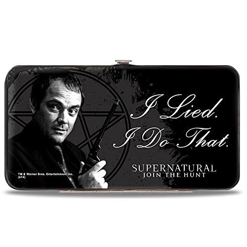 Wallet Pentagram (Buckle-Down Hinge Wallet - Supernatural)