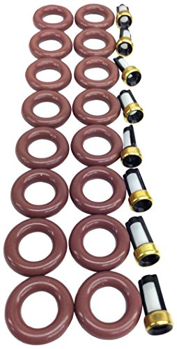 UREMCO 4-8 Fuel Injector Seal Kit, 1 Pack (Fuel Injector Seal Kit)