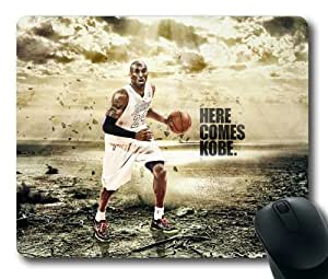 Here Comes Kobe NBA Los Angeles Lakers Kobe Bryant Mouse Pad/Mouse Mat Rectangle by ieasycenter