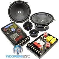 Cl-52 - CDT Audio 5.25 2 Way Component Speakers