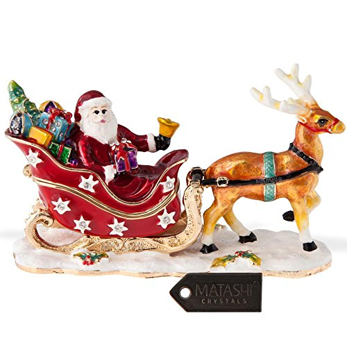 Matashi 24 K Gold Plated Santa