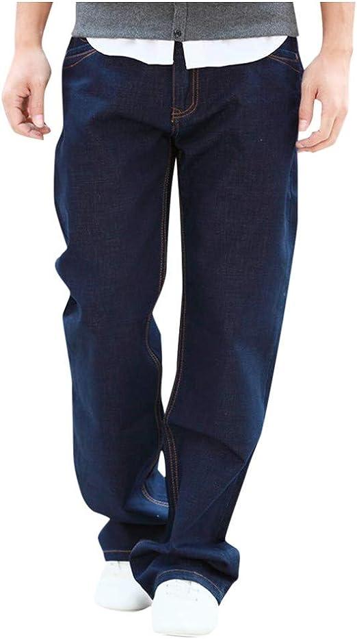 Vpass Pantalones Vaqueros Para Hombre Pantalones Hombre Tallas Grandes Pantalones Casuales Moda Jeans Sueltos Ocasionales Elasticos Pantalon Fitness Comodo Pants Largos Pantalones Ropa De Hombre Amazon Es Ropa Y Accesorios