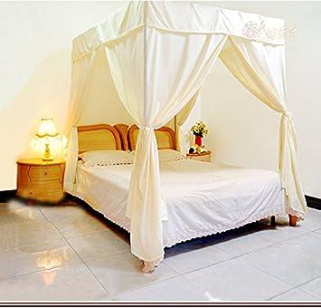 Eine Klimaanlage Bett Vorhang Home Wind Staub Schattierung Volltonfarbe  Moskitonetz Abdeckung Privatsphäre Moskitonetz Baldachin Bett