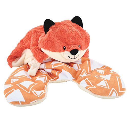 Animal Adventure | Popovers Travel Pillow | Orange Fox | Transforms from Character to Travel Pillow | 13