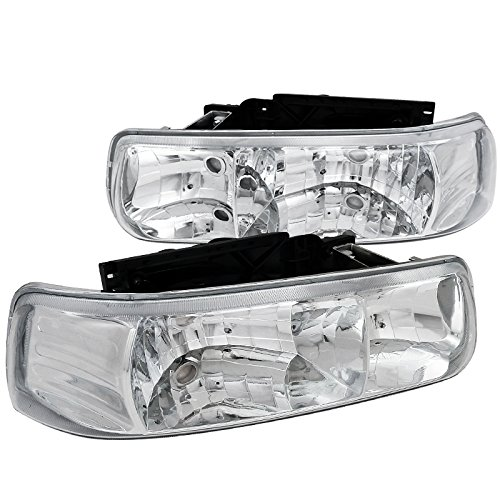02 tahoe chrome headlights - 3