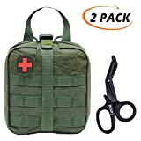 Product review for BUSIO Tactical MOLLE Pouch Set-IFAK EMT First aid Pouch-Military Emergency Survival Kit-Medical Bandage Scissors Trauma Bag