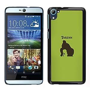 A-type Arte & diseño plástico duro Fundas Cover Cubre Hard Case Cover para HTC Desire D826 (Tarzn)