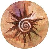 Thirstystone Spiral Sun Coaster, Multicolor