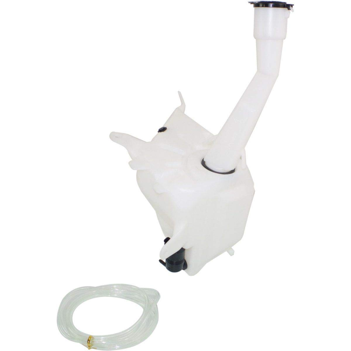 New Windshield Washer Tank For 1998-2004 Toyota Tacoma Includes Cap And Pump With Cold Weather Package With Sensor Hole TO1288184