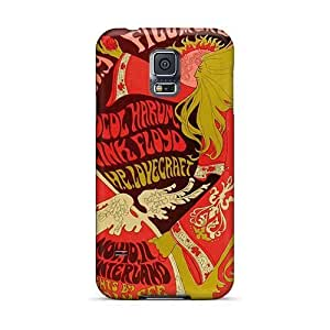 High Quality Phone Cases For Samsung Galaxy S5 With Customized High Resolution Grateful Dead Image PhilHolmes