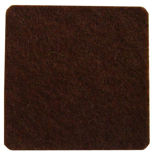 100% Wool Craft Felt Dark Brown 1.2mm X 72