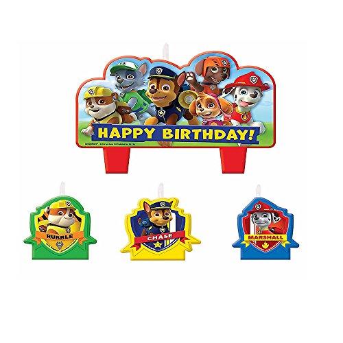 Paw patrol badge fondant decorations Paw patrol cake toppers