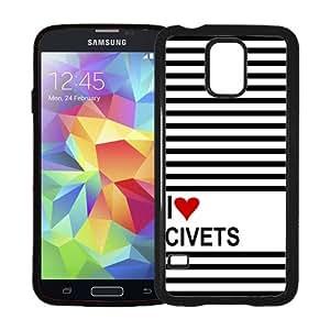 Love Heart Chickens Samsung Galaxy S5 SV Case - Fits Samsung Galaxy S5 SV