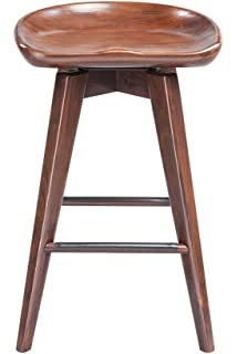 Pleasant Amazon Com Boraam 55129 Bali Swivel Stool 29 Inch Walnut Squirreltailoven Fun Painted Chair Ideas Images Squirreltailovenorg