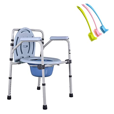 Amazon.com: LYF STOOLS - Silla de inodoro plegable con silla ...