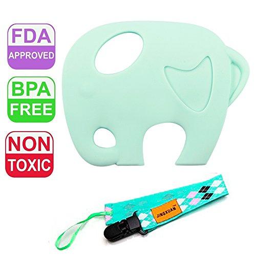 Dolle Baby Silicone Teething Elephant product image