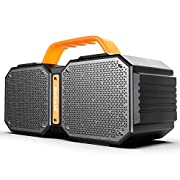 #AmazonGiveaways Bluetooth Speakers, Portable Bluetooth Speakers 5.0, 40W Super Power, Rich Woofer, Stereo Loud. Play for up to 40 Hours. Suitable for Family Gatherings and Outdoor Travel. (Black)