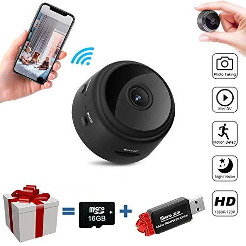 Fulens – Mini spy Hidden Camera, Night Vision WiFi spy Camera, Motion Detection Small Camera